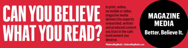 Trusted media environments more effective, magazines argue